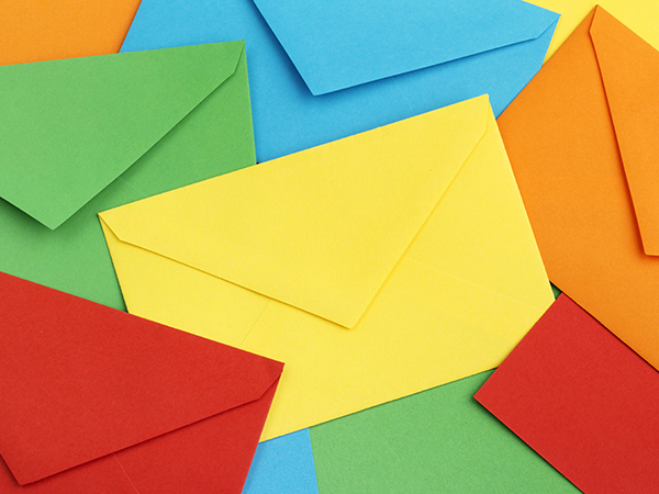 Using coloured envelopes for your business