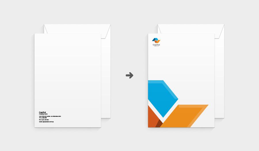 Branded C4 envelopes and DL envelopes