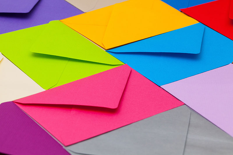 Use your envelope design to increase the customer response rate