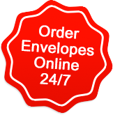 Order envelopes online 24/7